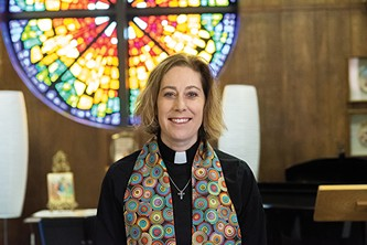 Rev. Jen Logsdon-Kellog is the associate pastor at Quail Springs UMC. - MIGUEL RIOS