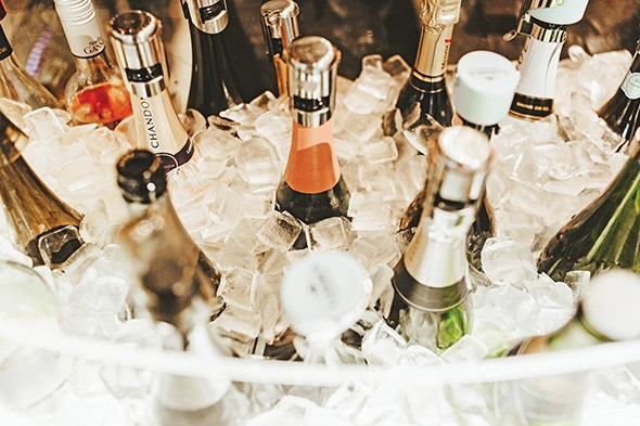 The Merret carries 15 varieties of champagne, in addition to cava, prosecco and domestic sparkling wines. - ALEXA ACE