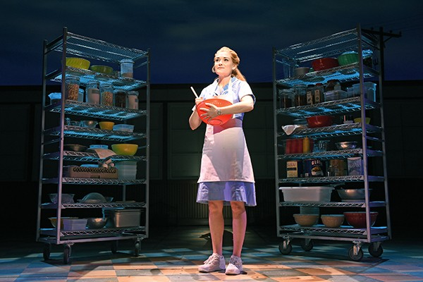 Christine Dwyer plays Jenna in the OKC Broadway production of Waitress. - TIM TRUMBLE / PROVIDED
