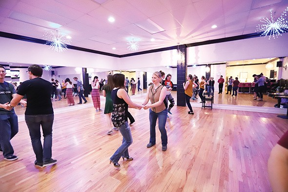 Swingout OKC offers weekly classes and social dances in a variety of styles. - PROVIDED