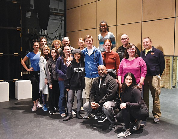 The cast and crew of The Curious Incident of the Dog in the Night-Time  - MUTZPHOTOGRAPHY.COM / PROVIDED