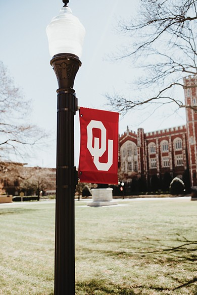 University of Oklahoma officials say combined donations and pledges have made the university cash positive. - ALEXA ACE