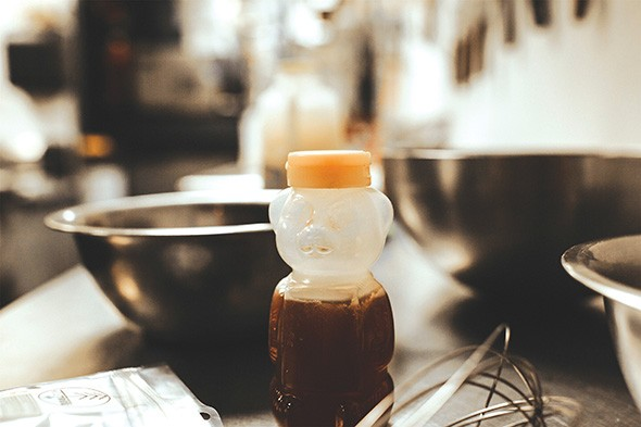 Infused honey allows home cooks to control how much medicine they apply to the salad. - ALEXA ACE