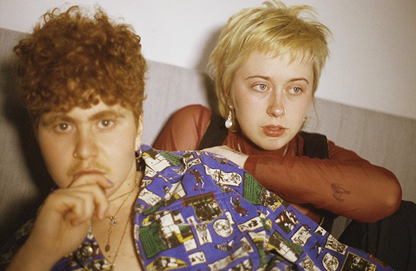Girlpool (from left Cleo Tucker and Harmony Tividad) plays May 9 at 89th Street - OKC. - GINA CANAVAN / PROVIDED