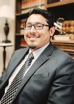 Javier Hernandez is the first DACA recipient admitted to Oklahoma Bar Association. He is an immigration attorney at Lambert Dunn & Associates. - ALEXA ACE