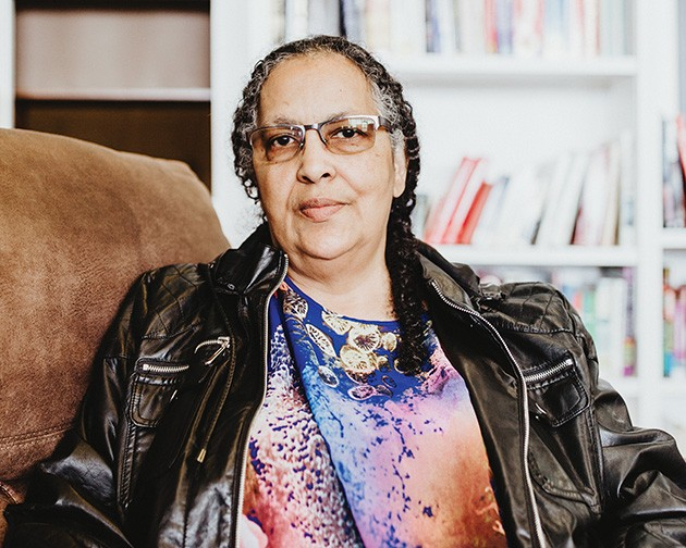 Longtime community activist and Nappy Roots Books owner Camille Landry said the killing of Isaiah Lewis fits a pattern in law enforcement. - ALEXA ACE