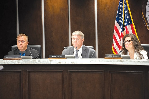 County commissioners unanimously voted to create a jail trust May 22. - MIGUEL RIOS