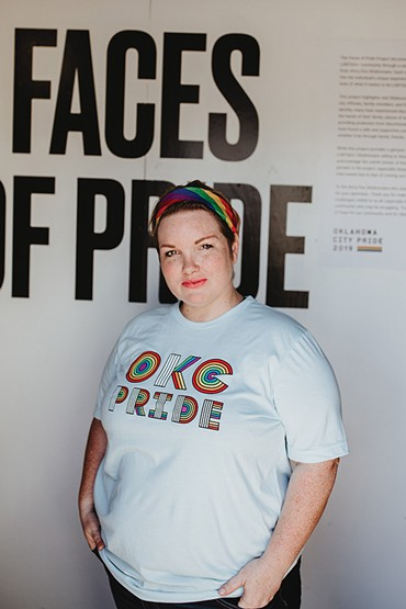 Lauren Zuniga said mayor David Holt declaring the third week in June Pride Week shows that diversity and inclusion is important for the city. - ALEXA ACE