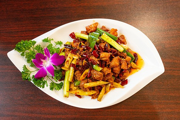 Guizhou diced chicken at Chuanyu Fusion - ALEXA ACE