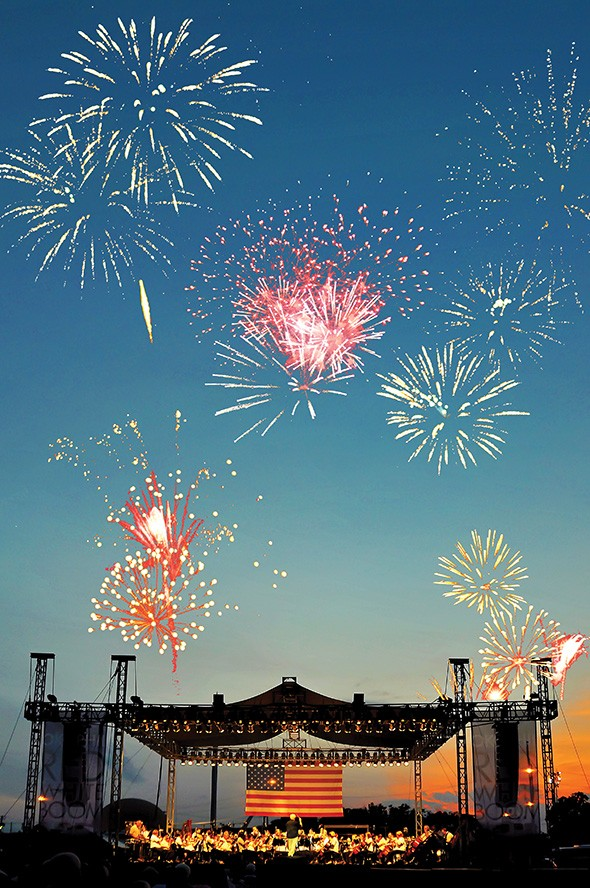 Red, White & Boom features a free concert by Oklahoma City Philharmonic followed by fireworks 8:30 p.m. Wednesday at State Fair Park. - PROVIDED