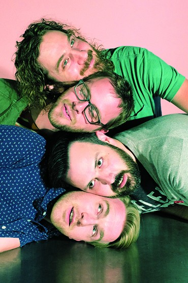 Beach Language celebrates the vinyl release of its full-length debut album 9 p.m.-midnight July 19 at 51st Street Speakeasy. - PROVIDED