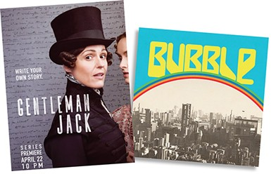Gentleman Jack | HBO / provided • Bubble | Bubble / provided