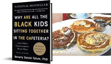 Why Are All the Black Kids Sitting Together in the Cafeteria?  | Image Hachette Book Group / provided • Neighborhood JA.M. | Photo Jacob Threadgill