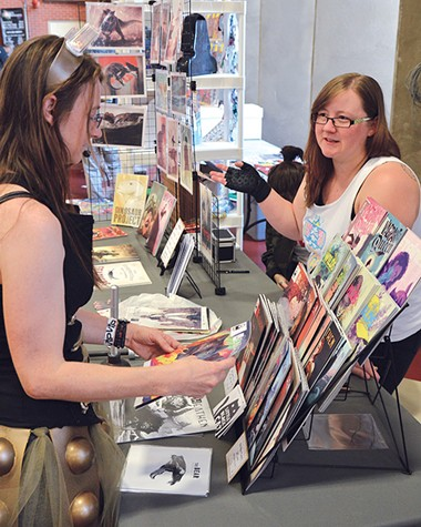 More than 100 artists and vendors will be at New World Comic Con. - PROVIDED