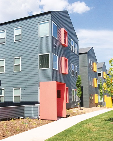 The Seven at Page Woodson offers around 80 market-rate rental units. - ALEXA ACE