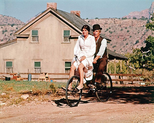 Butch Cassidy and the Sundance Kid shows 7:30 p.m. Sunday at Tower Theatre. - PROVIDED