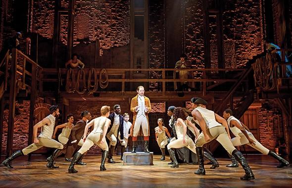 Joseph Morales as Alexander Hamilton in Hamilton: An American Musical - JOAN MARCUS / PROVIDED