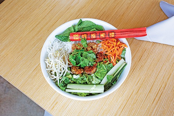 Vermicelli bowl with shrimp - ALEXA ACE