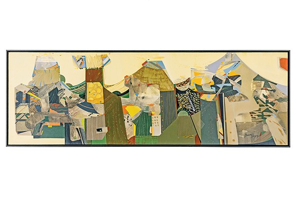"""Chaldeans of Ur"" by Brenda Kingery - OKLAHOMA CITY UNIVERSITY / PROVIDED"