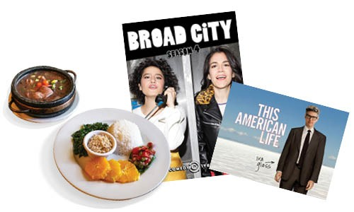 Café do Brasil | Photo Gazette / file • Broad City  | Image Comedy Central / provided • This American Life | Image This American Life / NPR / provided