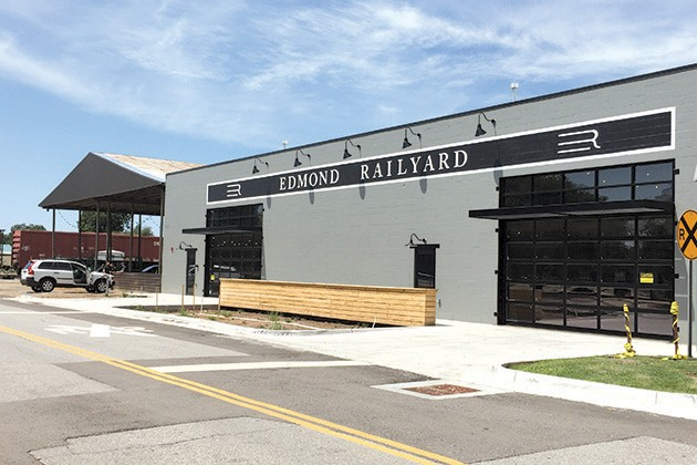 Edmond Railyard will feature six restaurant concepts, a craft bar and two office spaces. - PETE BRZYCKI