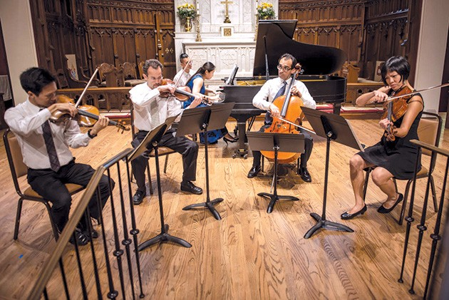 Brightmusic Chamber Ensemble begins its 2019-2020 season with Melodic Masters 7:30 p.m. Sept. 24 at Saint Paul's Cathedral. - PERFORMINGARTSPHOTOS.COM / PROVIDED