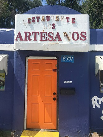 Restaurante Los Artesanos is located at 2701 S. Walker Ave. - JACOB THREADGILL