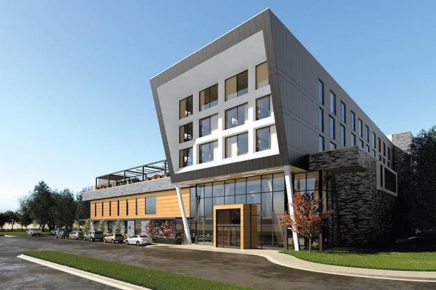 The Ellison Hotel is set to open in 2021 in The Triangle at Classen Curve. - PROVIDED / GSB, INC.