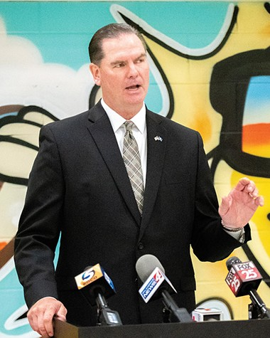 OKCPS superintendent Sean McDaniel told media in early August that the district still needed special education teachers and bus drivers. - MIGUEL RIOS