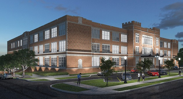 Oklahoma City Redevelopment Authority recommended the OKCPS board of education pursue Carpathia's proposal. - PROVIDED