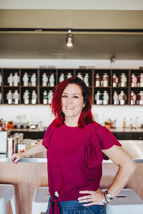 Kristy Jennings is the owner of Urban Teahouse. - ALEXA ACE