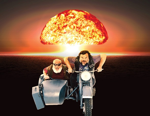 Tenacious D plays 8 p.m. Oct. 20 at The Criterion. - SHANE MCCAULEY / PROVIDED