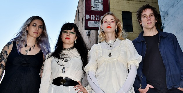 Death Valley Girls plays 9 p.m. Nov. 9 at Opolis in Norman. - DEB FRAZIN / PROVIDED