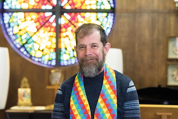 Rev. Scott Spencer, lead pastor at Mosaic UMC, said his church is prepared to exit the UMC if significant changes aren't enacted at the May 2020 general conference. - MIGUEL RIOS
