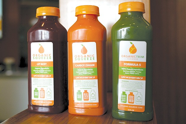 Cold-pressed juice offers more nutrients than store-bought, pasteurized juice. - ALEXA ACE