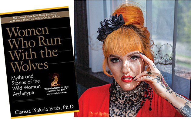 Women Who Run with the Wolves  | Image Ballantine Books / provided • Nails by Zitta at manifest | Photo Alexa Ace