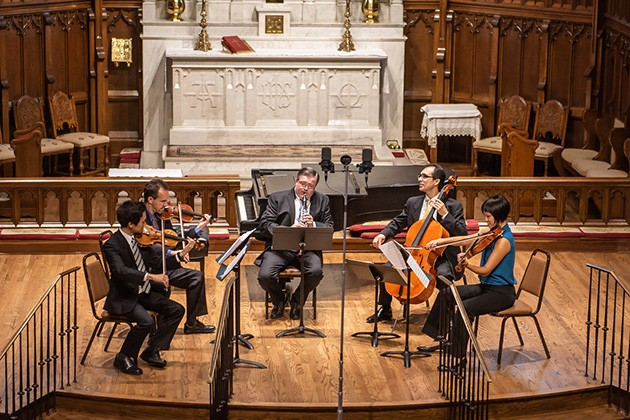 Brightmusic Chamber Ensemble plays Rustic Gardens 7 p.m. Tuesday at Saint Paul's Cathedral. - PERFORMINGARTSPHOTOS.COM / PROVIDED