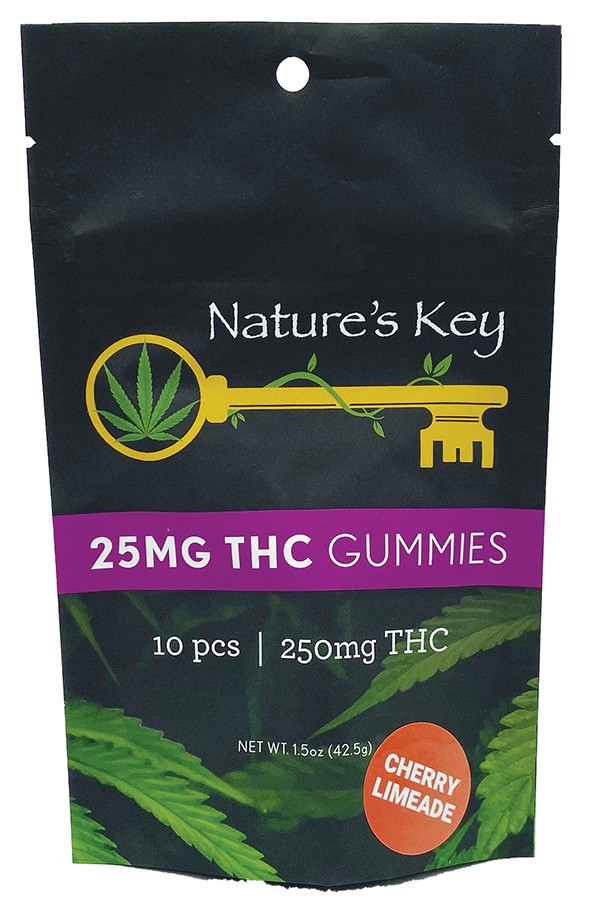 Nature's Key 25mg gummies - PROVIDED