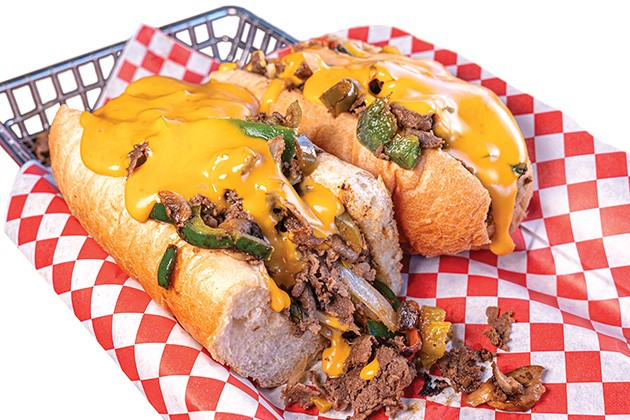 Southwestern Philly is the most popular cheesesteak at Philly Homa. - PHILLIP DANNER