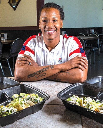 Zarious Hughes found a culinary calling after seven years in the Navy. - PHILLIP DANNER