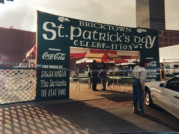 The Brewers' St. Patrick's Day Block Party was started 30 years ago. - PROVIDED