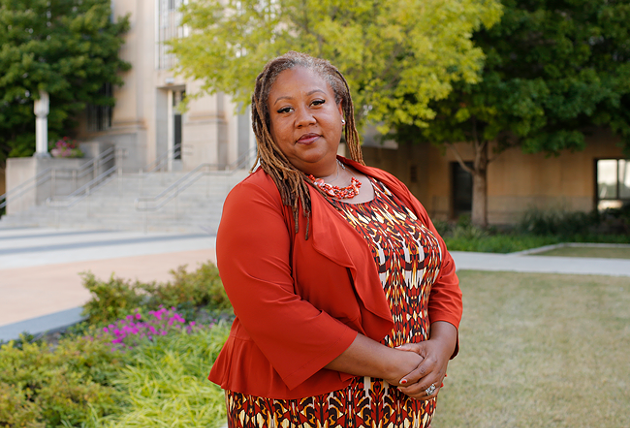 Rev. T. Sheri Dickerson, executive director of Black Lives Matter OKC, said the group has canceled or moved its planned events online since COVID-19 cases have begun to rise. - GAZETTE / FILE