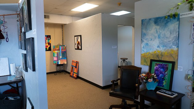 Paseo Arts Association's new building includes galleries and artist studio space. - PHILLIP DANNER