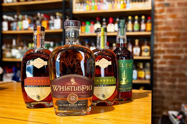 Rare Single Barrel Ryes & Bourbons at George's - BERLIN GREEN