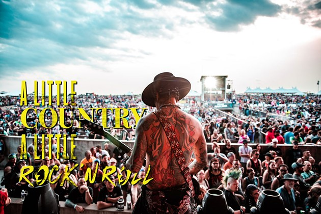 Buckcherry plays Rocklahoma in 2019. Rocklahoma is one of two large outdoor music festivals are slated to go forward in Pryor despite the rising number of COVID-19 cases. - PHOTO PROVIDED