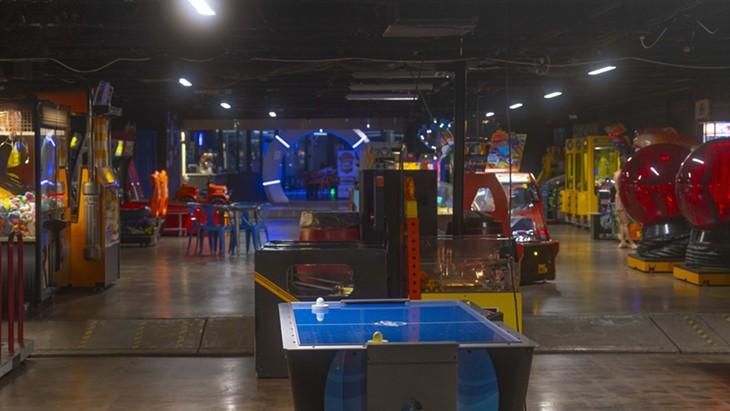 Cactus Jack's Family Fun Center, one of the original OKC arcades, in west Oklahoma City - PHILLIP DANNER