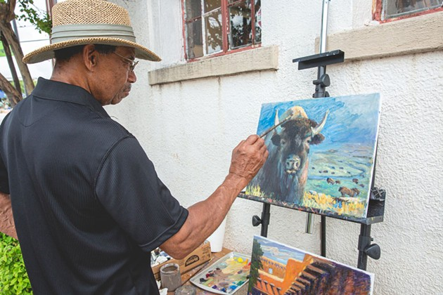 The Paseo Arts Festival, typically slated for the Memorial Day weekend, goes ahead during Labor Day weekend this year. - JOSH VAUGHN