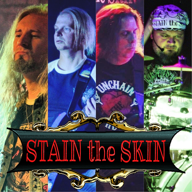 Stain the Skin is Conrad Fanning Will Whyman Danny Martin and Tink McGathy