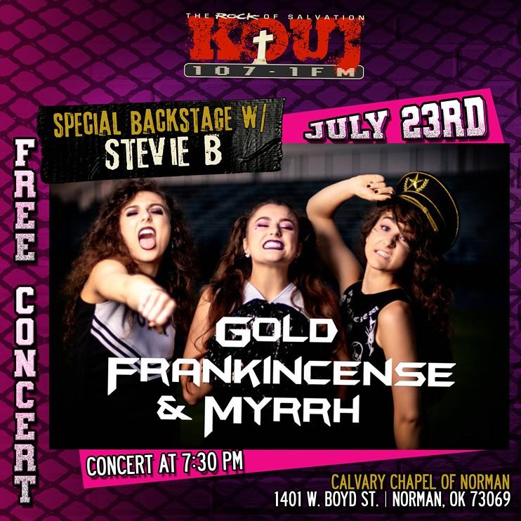 GFM Concert Flyer