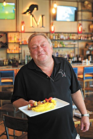 Chef Bruce Rinehart at The Manhattan OKC, Monday, Aug. 14, 2017.  (Garett Fisbeck)